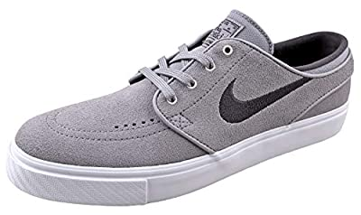 Nike Mens SB Zoom Janoski Skate Shoes 333824-075 Grey/Grey/White 8.5 D(M) US