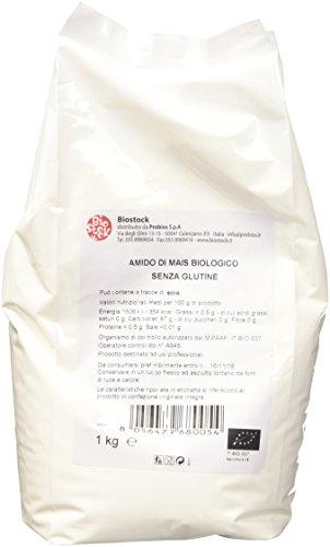 Probios Amido di Mais Bio - Senza Glutine - Confezione da 1kg