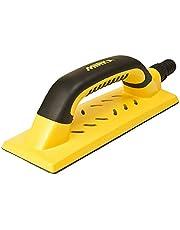 Mirka Handslip för mobiltelefon med kardborreband och sug för 80 x 230 mm slipremsor, slipklossar för slipning av spatel, gips, trä, dammfri slipning, 8391200111