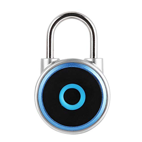 Vingerafdrukhangslot, draagbaar elektronisch Smart Keyless-hangslot, Smart USB Keyless biometrisch hangslot voor kasten, laden, schoenenkasten, kantoorkasten.