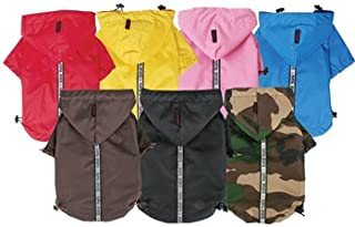 Base Jumper Rain Coat, Black Small