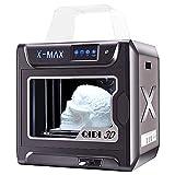 QIDI TECH Stampante 3D X-Max, Intelligente di Grado Industriale di Grandi Dimensioni, Touchscreen da 5 Pollici, Stampa ad alta Precisione con ABS, PLA, TPU, Nylon, Filamento PC, 300X250X300mm
