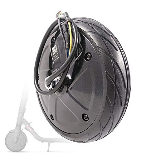DLILI Compatible con Scooters eléctricos, Motor de CC sin escobillas de 42V 350W, neumáticos Antideslizantes, para reemplazar 9 Ruedas motrices de Scooter
