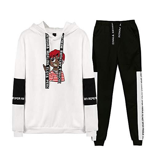 Trainingspak Lil Yachty Gymnastiek-Outfit Unisex Hoodie en Broek 2-Delige Set Sportwear Hoodies Sportkleding Trainingspak Sweatsuit Streetwear