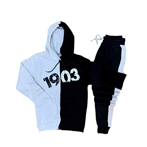 YSN Home Collection capuchontrui + joggingbroek Besiktas BJK Pullover Hoodie trainingspak joggingpak - 100% katoen
