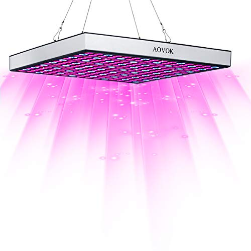 AOVOK LED Grow Light, Grow Lamp Bulb Plant Light 45w Red and Blue for Indoor Plants