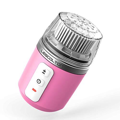 Brosse De Nettoyage Pour Le Visage, Brosse De Nettoyage électrique, Utilisée Pour Nettoyer Et éliminer La Saleté Profonde Du Visage,Pink