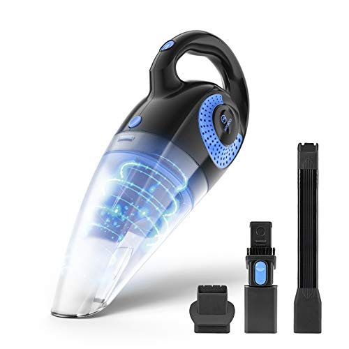 MOOSOO Handheld Vacuum Cordless 8500PA Wet Dry Powerful Hand Vacuum Lightweight Rechargeable Handy vac for Home Car M4