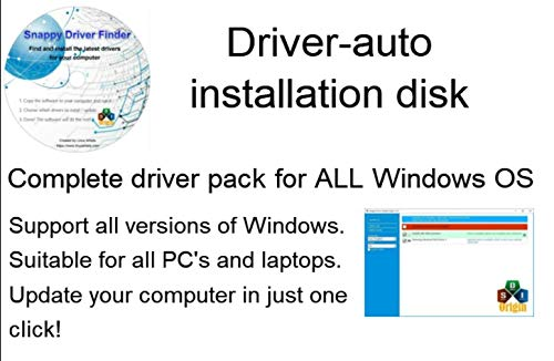 Automatic Driver Installation for Windows 10, 8, 7. also Supports HP Dell Gateway Toshiba Gateway Acer Sony Samsung MSI Lenovo Asus IBM Compaq eMachine