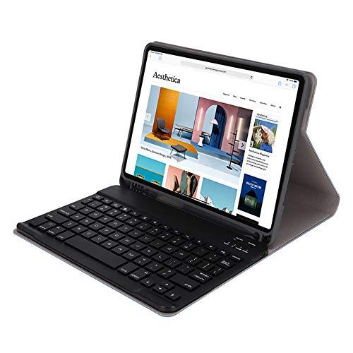 Bluetooth 3.0 Toetsenbordbeschermingsset, 11 Inch Draagbaar Slim Slapend Toetsenbord voor Pad/Mobiel, Fashion Work-Toetsenbord Verander uw Pad voor Laptop(Blauw)