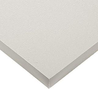 "Seaboard High Density Polyethylene Sheet, Matte Finish, 1/4"" Thick, Mercury Gray, 16 1-/2""W x 79""L,"