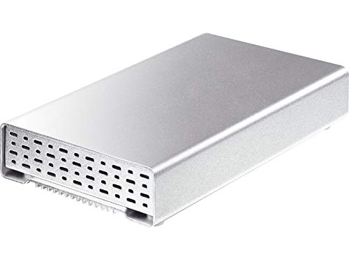AluICE mini Turbo - Disco duro externo de 2,5 pulgadas (USB 3.0, SATA, Firewire 800)