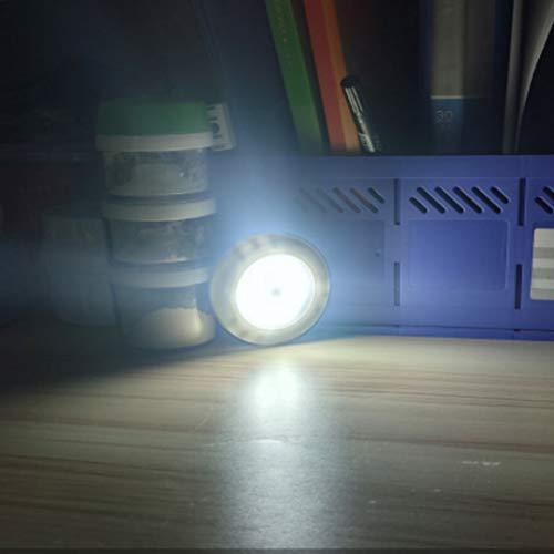 Lámpara led del gabinete del corredor de la batería del hogar inalámbrico de la lámpara del armario inalámbrico dormitorio inalámbrico de la lámpara de inducción del cuerpo inteligente