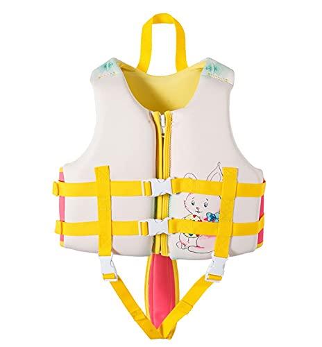 TYPING Neoprene Life Chalecos Niños Deportes De Agua Chaleco De Pesca Kayaking Boating Natación Surfing Drifting Seguridad Vestir Chaleco 2-12 Años,M