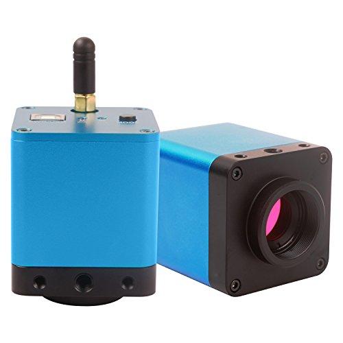 AmScope MU100-WU 720p WiFi + USB Digital Camera for Microscopes