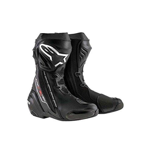 Alpinestars Supertech R Racingstiefel, Farbe schwarz, Größe 45