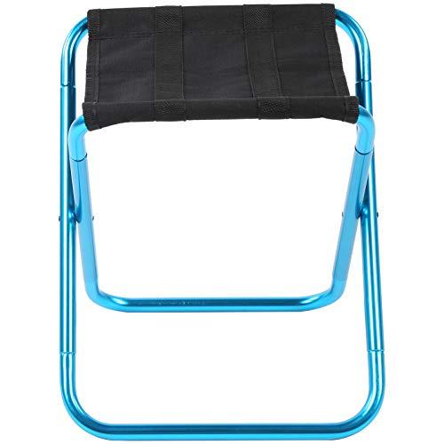 Byged Silla Plegable para Acampar, Mini Silla Plegable práctica y práctica Duradera, Pesca de Picnic Resistente al Desgaste para IR de excursión Acampar