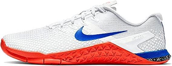 Nike Metcon 4 Womens Running Shoes, White/Racer Blue/Flash Crimson/Sail 9 US