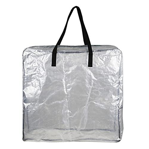 OUOshield Borsone trasparente portatile grande capacità impermeabile per viaggi all'aria aperta in campeggio