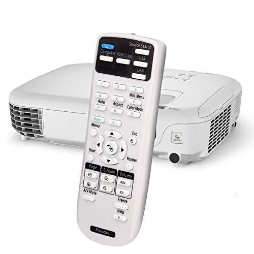 Aimdio Telecomando Proiettore Per Epson EH- TW6700 TW570 TW5100 TW5200 TW5350 EB- X27 S04 W12 485WT W05 X24 X05 S18 BRIGHTLINK EB 475WI Proiettore Videoproiettore Controller