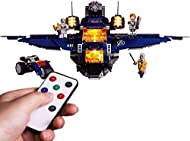 Guerlam Led Lighting Kit for LEGO Marvel Avengers Ultimate Quinjet Plane - Compatible with Lego 7612...