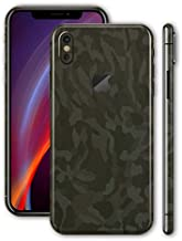 Bloom Skins for Apple iPhone Xs/iPhone 10S | Luxury Camo Protective 3M Vinyl Skin Decal Wrap Film Premium Ultra Slim Cover Back Sticker with 3D Texture | Made in USA