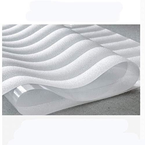 Raamfolie voor de badkamer, statisch, mat, voor op kantoor, transparant