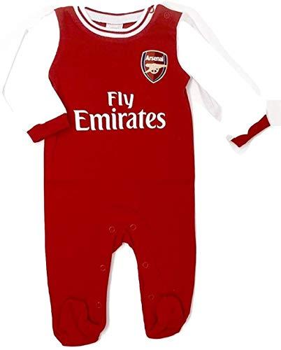Brecrest Arsenal Baby Sleepsuit 2019/20-6-9 Months