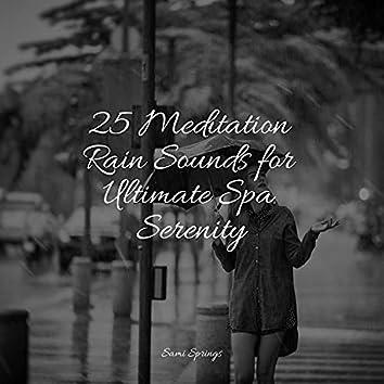 25 Meditation Rain Sounds for Ultimate Spa Serenity