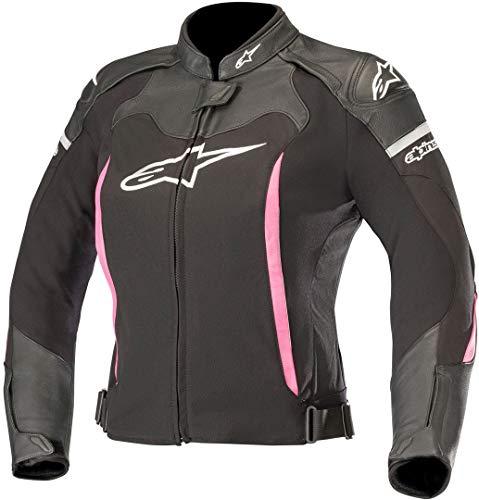 Alpinestars Motorradjacken Stella Sp X Jacket Black Fuchsia, Schwarz/Fuchsia, 38