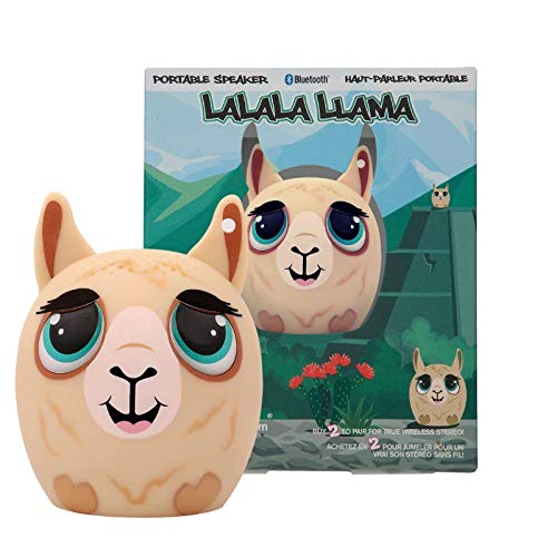 My Audio Pet Mini Bluetooth Animal Wireless Speaker for Kids of All Ages - True Wireless Stereo – Pair with Another TWS Pet for Powerful Rich Room-Filling Sound (Lalala Llama)