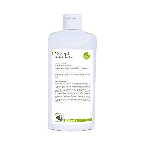 MaiMed OpSept Hände-Antiseptikum Desinfektionsmittel Händedesinfektion, Adeno-,Rota-, Noro-Viren, 500 ml