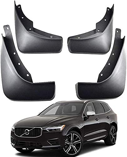 KSSFBBN Faldillas Antibarro Mudflaps para Volvo XC60 Sports R-Design 2018-2020 2019, contra Salpicaduras Guardabarros De Coche Accesorios De Coche