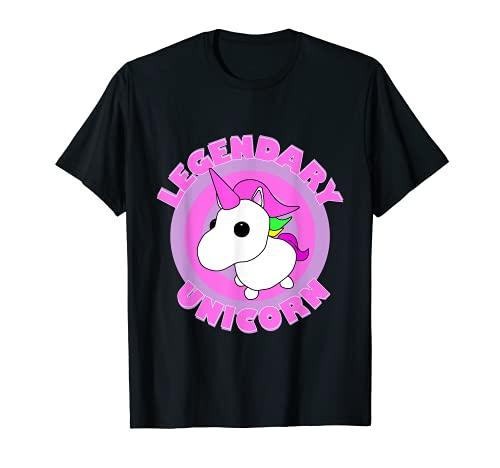 El legendario unicornio me adopta el equipo de juego Camiseta