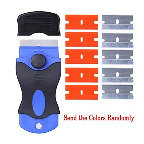 Telefon LCD-Kleber-Remover-Schaber-Messer for iPhone iPad Samsung Residue Adhesive Reinigungs-Tools Outillage Telefon-Reparatur-Werkzeuge (Color : White)