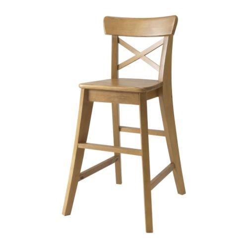 IKEA INGOLF -Junior Stuhl Antikbeize