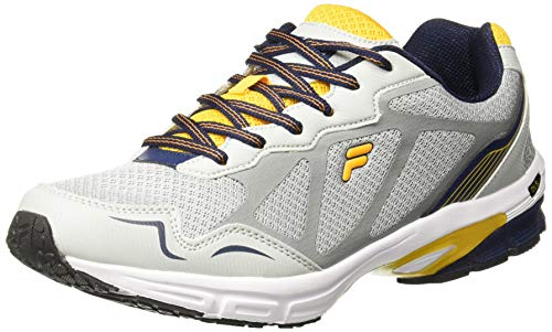 Fila Men's Dyton Lt Gry/NVY/Org Running Shoes-6 UK (40 EU) (7 US) (11005242)