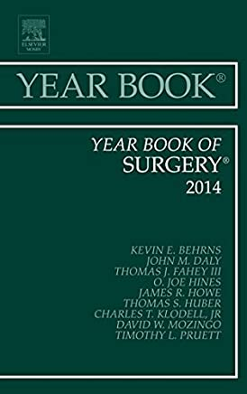 Year Book of Surgery 2014, 1e (Year Books) by Behrns MD, Kevin E. (2014) Hardcover