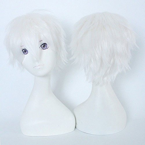 S-noilite Perruque Cheveux courts raides Cosplay Longs Unisexe Anime Mode