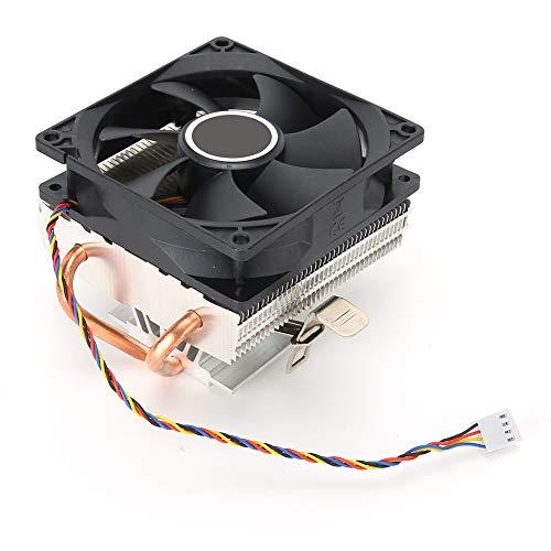 ASHATA Mini Enfriador de CPU con cojinete de presión de Agua, Ventilador de refrigeración de CPU de disipación de Calor silencioso para 775/1155/1366