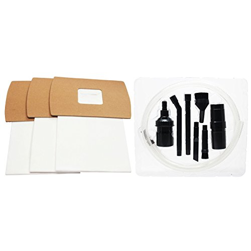 18 Replacement Type BB Buster B Vacuum Bags with 1 Micro Vacuum Attachment Kit for Oreck - Compatible with Oreck XL2, Oreck PKBB12DW, Oreck BB900-DGR, Oreck XL PRO 5, Oreck Buster B, Oreck BB280D, Oreck BB870AW, Oreck XL 3, Oreck XL 5, Oreck XL7, Oreck XL8000, Oreck XL9000, Oreck XL9200, Oreck BB870AD, Oreck BB1000, Oreck Type BB