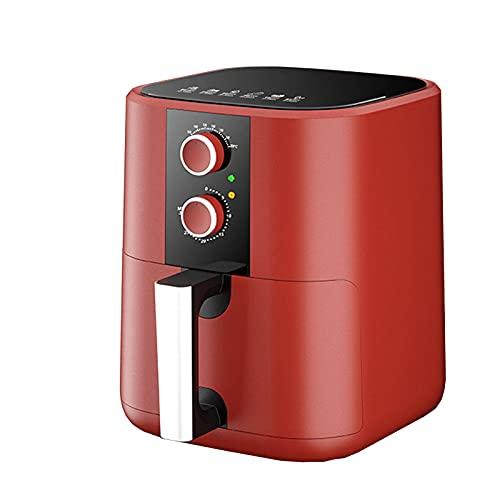 Rziioo Freidora Sin Aceite De Diseño Compacto,Freidora Dietética Sin Aceite,Freidora De Aire Sin Aceite,Caliente 80 A 200 °C Control De Temperatura