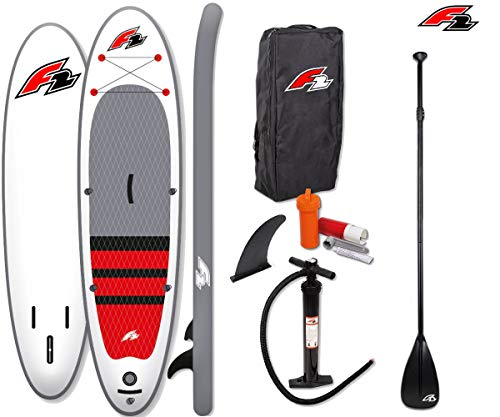 """F2 Coalition 11\'5\"""" SUP Board Stand Up Paddle Surf-Board mit Paddel"""