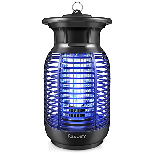 Bug Zapper, 4250V Electronic Mosquito Zapper for Outdoor and Indoor, Waterproof Insect Fly Traps Mosquito Killer for Patio, Home and Garden