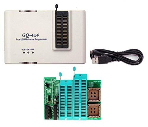 GQ Brand GQ-4X4 - Programador USB universal de 40 pines + adaptador EPROM de 16 bits 28F102 27C400 27C800 27C160 27C322 27C1024 27C2048 27C4096 27c4002 M2 M2 M2 7C322. programador