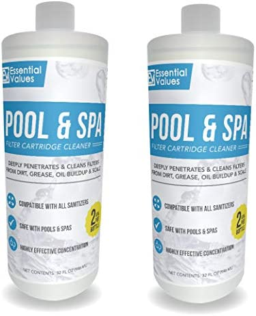 Top 10 Best solution to soak hot tub filter Reviews