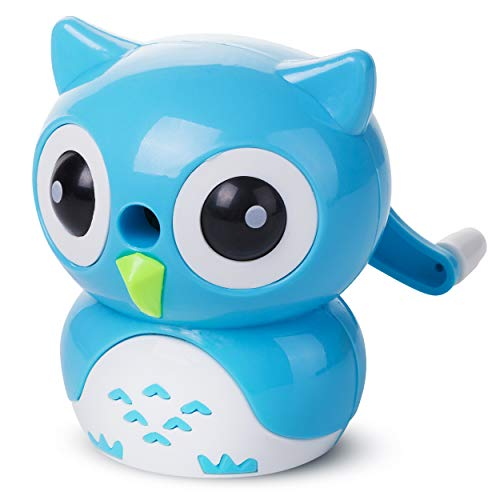 Mr. Pen- Pencil Sharpener, Owl Shaped Sharpener, Pencil Sharpener for Kids, Pencil Sharpener for Colored Pencils, Pencil Sharpener Manual, Cute Pencil Sharpener, Fun Pencil Sharpener, Gift for Kids