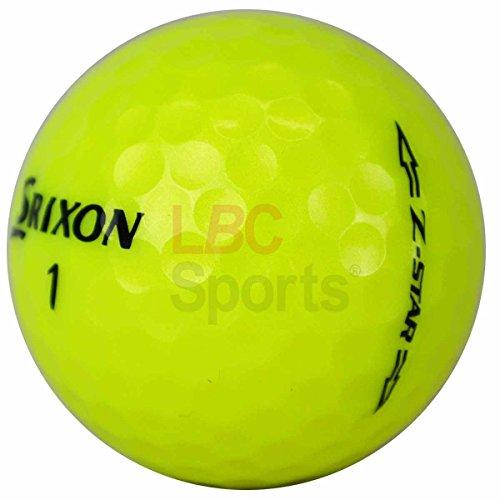 Lbc de Sports 400Srixon Z Star Yellow–AAAAA–Pelotas de golf–Lake Balls–como nuevo ZStar Amarillo