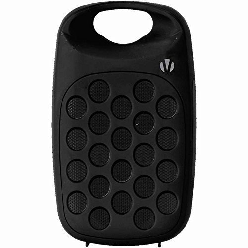 Vivitar VBT1000-ASST-WM-6PK Bluetooth Wireless Rechargeable Clip On Speaker – Black