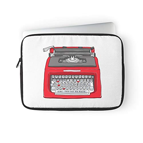 Write We Typewriter This Day Laptop Sleeve Case Cover Handbag for MacBook Pro/MacBook Air/Asus/Dell/Lenovo/Hp/Samsung/Sony.Etc